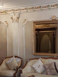stucchi in gesso : decorare una parete con stucchi in gesso