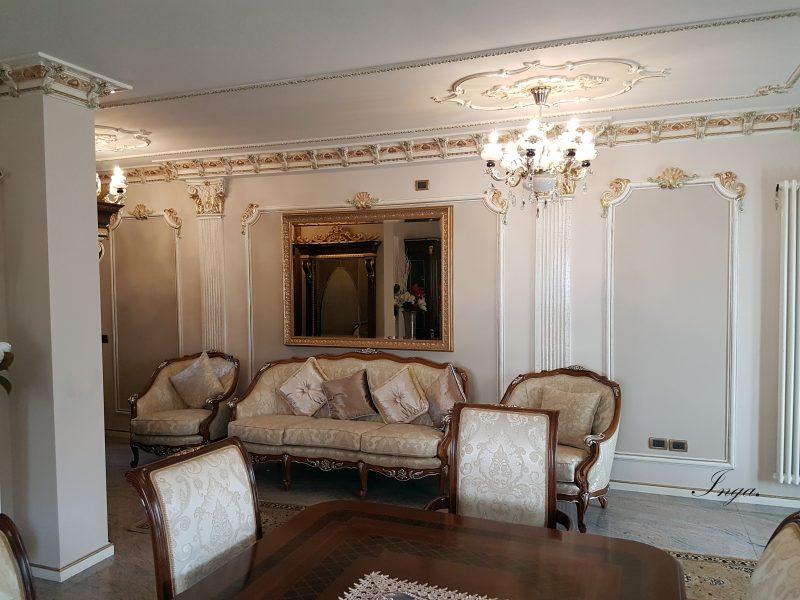 Stucchi decorativi in gesso inga - Stucchi decorativi per pareti ...