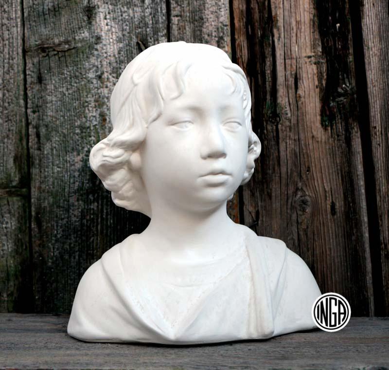 Busto di Fanciullo in gesso